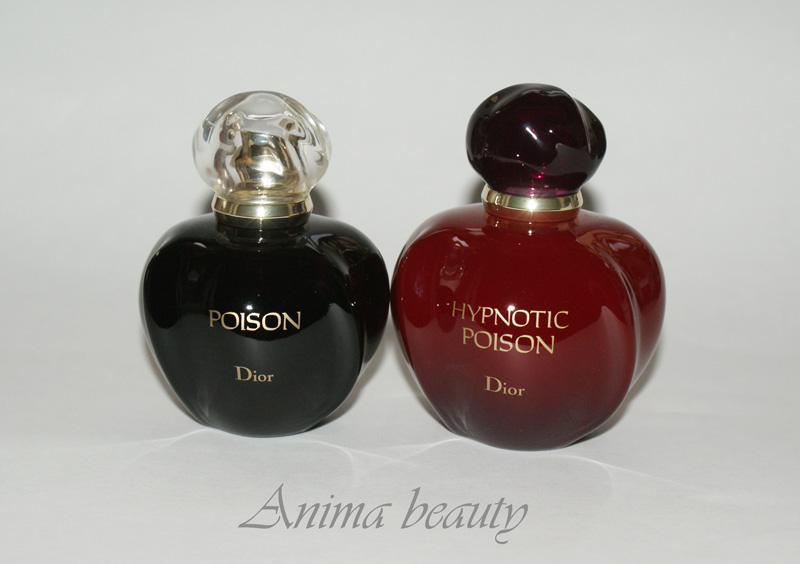 Anima Beauty сладкий яд Dior Poison и Hypnotic Poison
