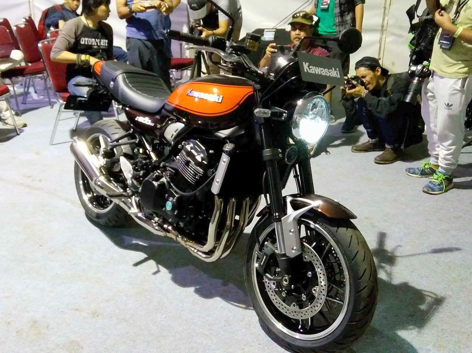 Kawasaki Indonesia resmi rilis Z900RS di Kawasaki Bikers Week 2017