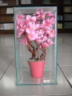 Cara Membuat Bunga Sakura (Bunga Palsu)