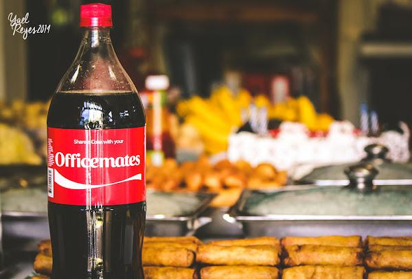 今天就和同事們來一杯可樂吧!
