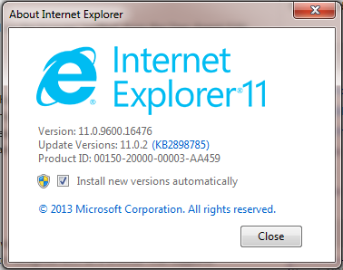 Preempted: Possible Problem * gwt xml Error with Internet Explorer 11