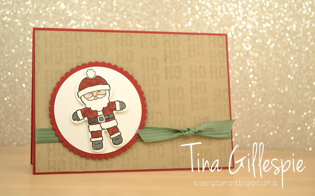 scissorspapercard, Stampin' Up!, Cookie Cutter Christmas, Labels To Love
