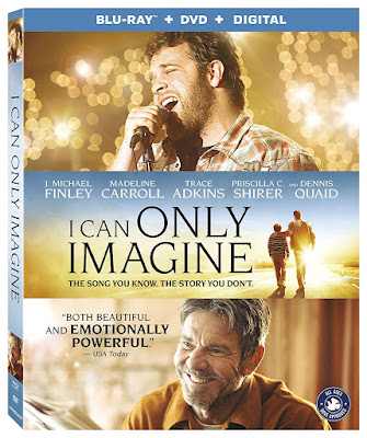 I Can Only Imagine 2018 Blu Ray