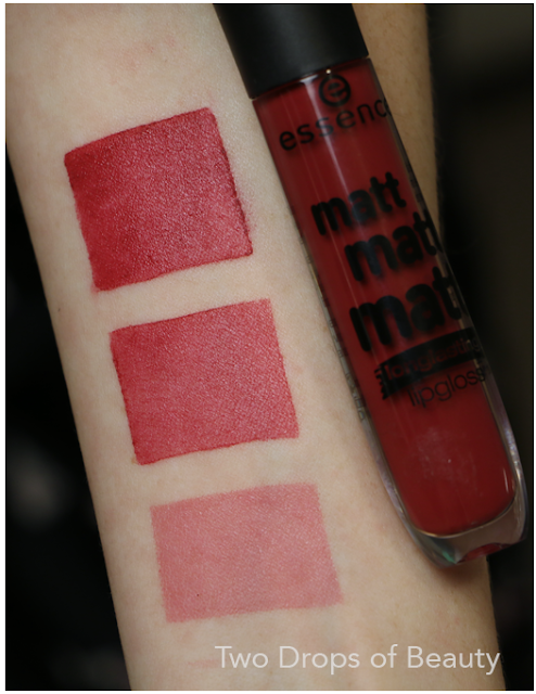 essence matt swatches, Simply be an icon, матовый блеск для губ