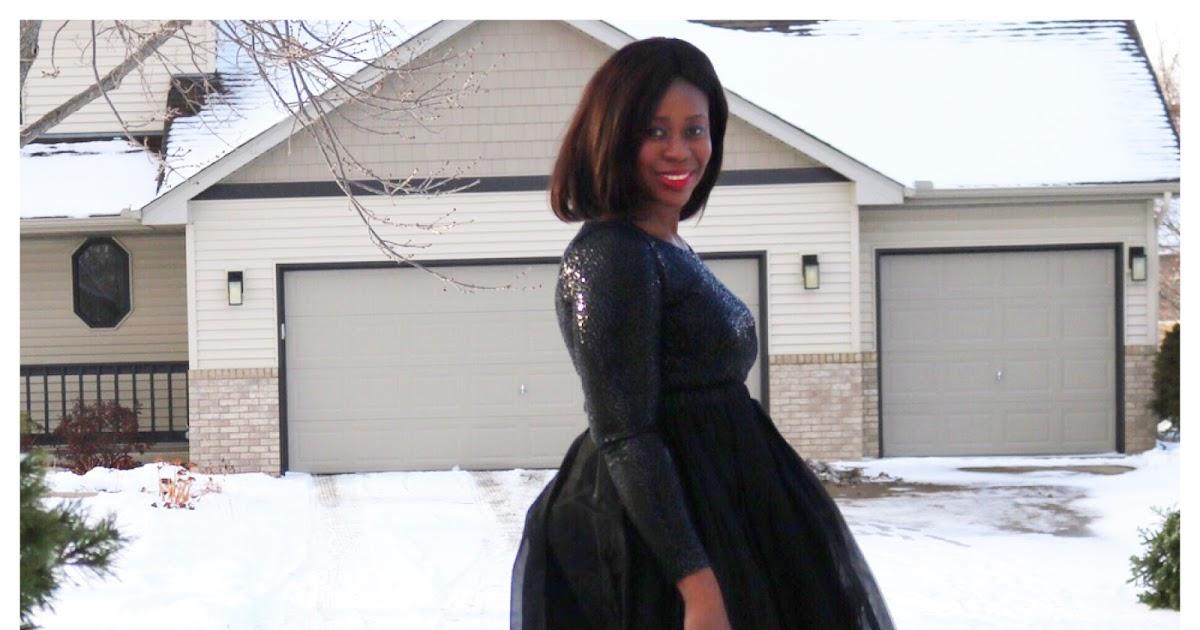 Fashion Beauty Zone: Beauty's Fashion Zone: Sequin Dress + Tulle Skirt
