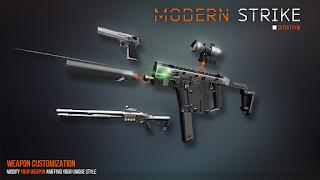 Modern Strike Online v1.19.2 B78 Mod Apk + OBB Terbaru