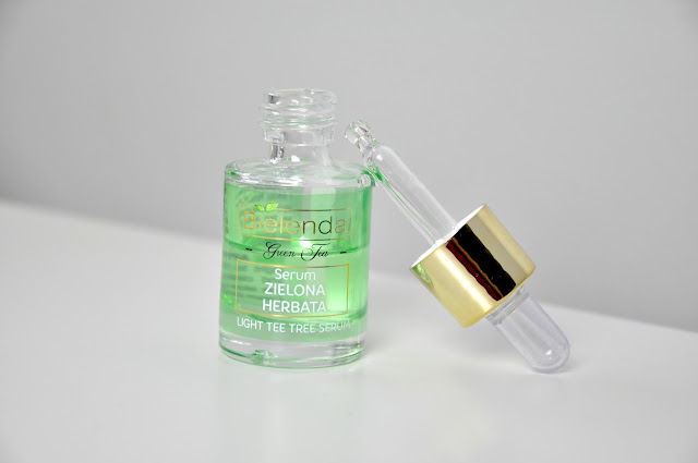 serum bielenda zielona herbata green tea light tea tree serum
