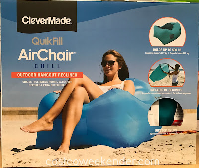 Lounge around on the ClevrMade QuikFill Air Chair