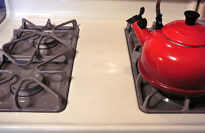 The Hidden Pantry Easiest Stove Cleaning For Enamel Tops