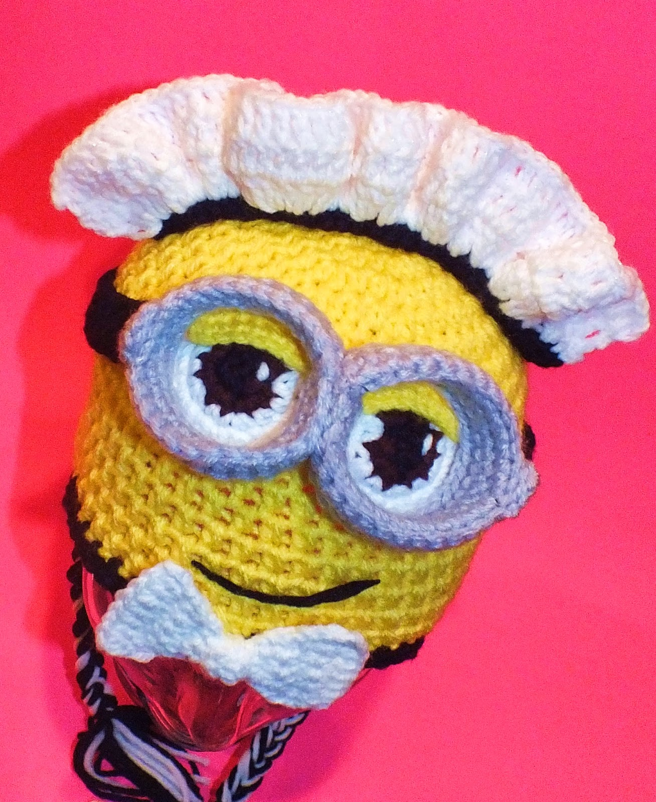 Connies spot crocheting crafting creating minion inspired minion inspired siren french maid crochet hat patterns bankloansurffo Image collections