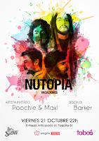 Concierto de Nutopía y Poochie and Maxi en Sala Taboó