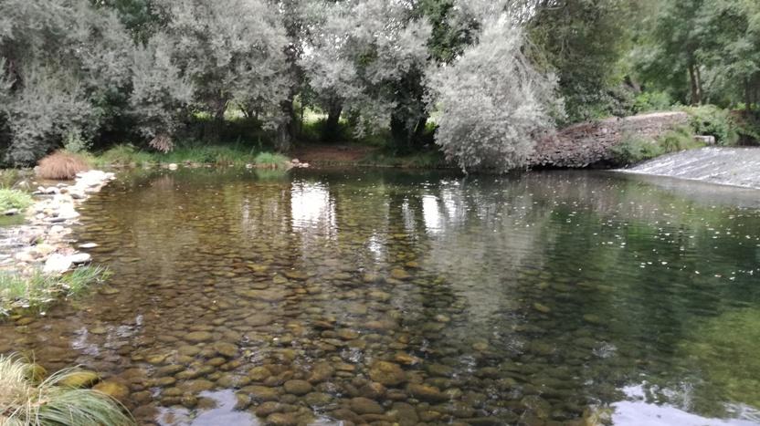 águas Límpidas com pedras no fundo