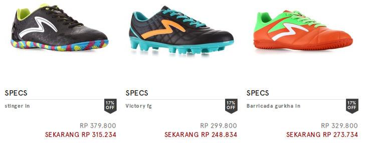 Diskon 17 Sepatu Futsal Specs Di Zalora Indonesia