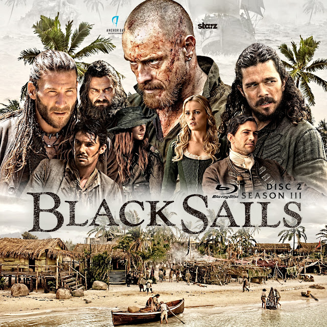 Black Sails Season 3 Disc 2 Bluray Label