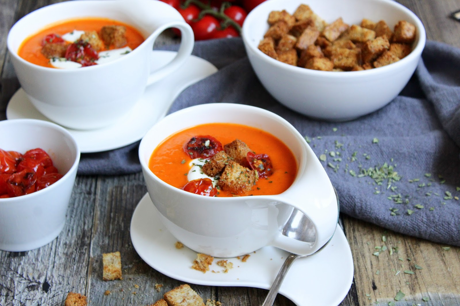 Tomatensuppe Fruchtig Lecker