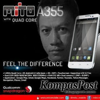 Mito A355 Smartphone Android