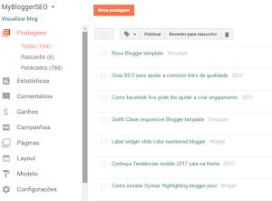 Google atualiza painel de visualização Blogger