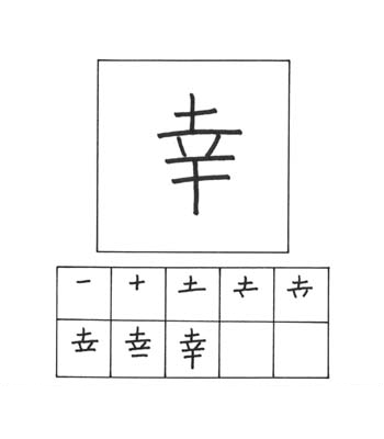 kanji kebahagiaan