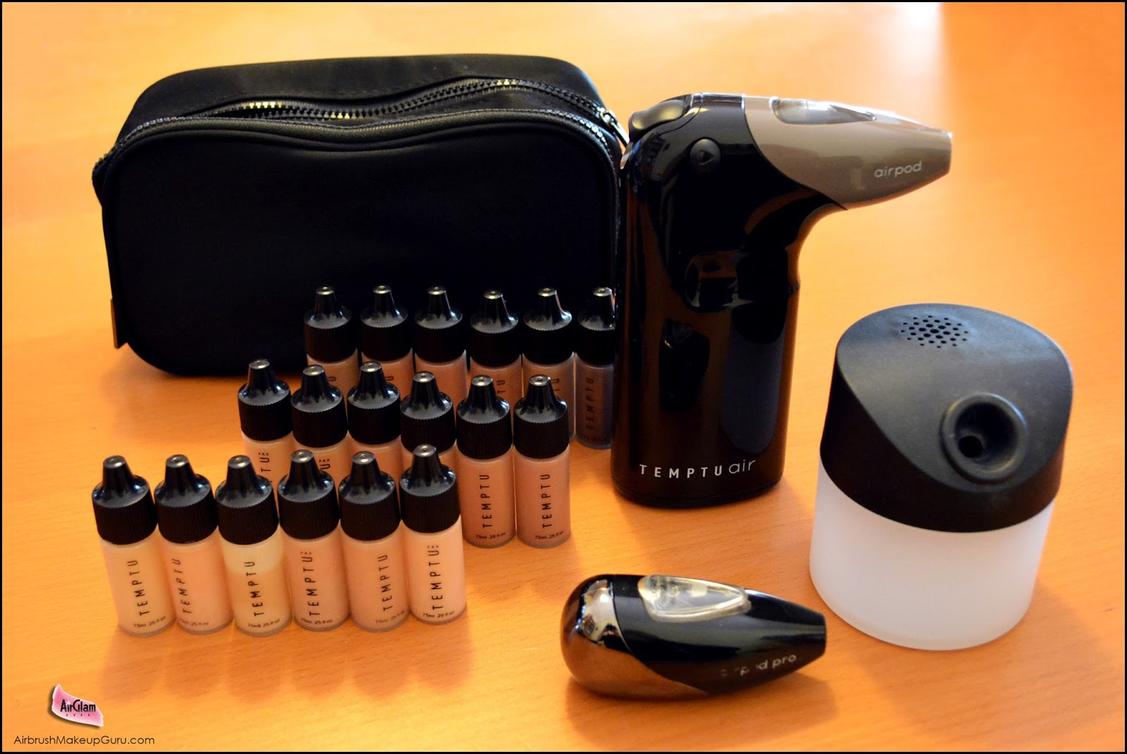 The Temptu Air Kit with Airpod Pro and Hydralock Foundation