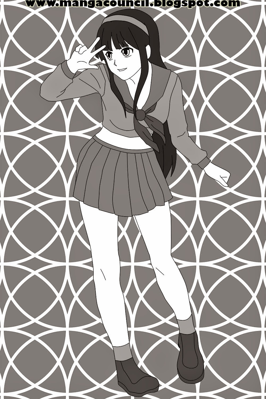 Cara Menggambar Anime Cewek untuk Pemula