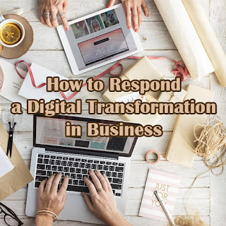 Strategies to respond digitial transformation.
