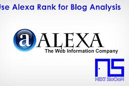 Use Alexa Rank for Blog Analysis