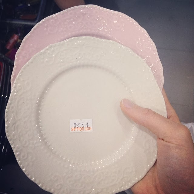 Cute plates at Hot Dollar/Dollar King Sydney