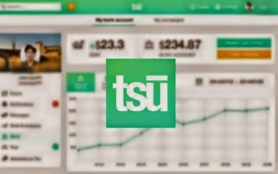 موقع tsu الجديد شبيه للفيسبوك لربح المال بسهولة مقابل منشوراتك وأصدقاءك