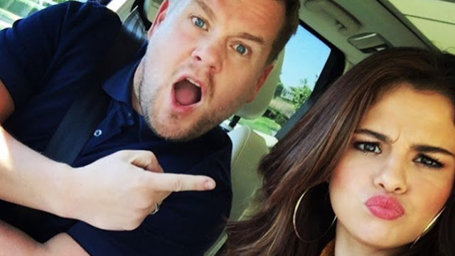 """Selena Gómez será la próxima invitada del """"Carpool Karaoke"""" de James Corden."""