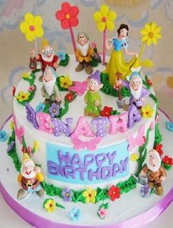 Inspirasi Kue Ulang Tahun Anak Dari Tokoh Princess Disney