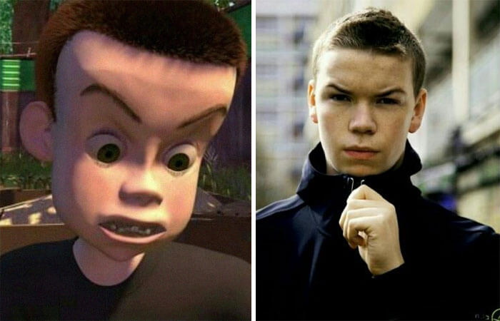 Hilarious Life Progress Pictures Posted Online That Made Us Laugh Out Loud - Remember Sid From Toy Story? He's No Longer A Bully. He's Also In College