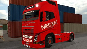 Nescafé Volvo 2013 and 2012 skins