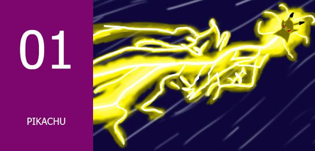 pikachu karakter anime berkekuatan petir