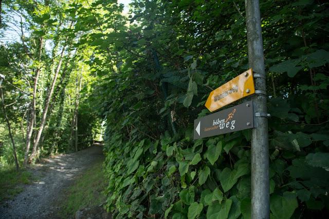 Historische Höhenweg von Bendern nach Schellenberg  Wandern Liechtenstein 02