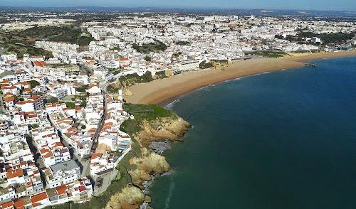 imagem aérea de Albufeira