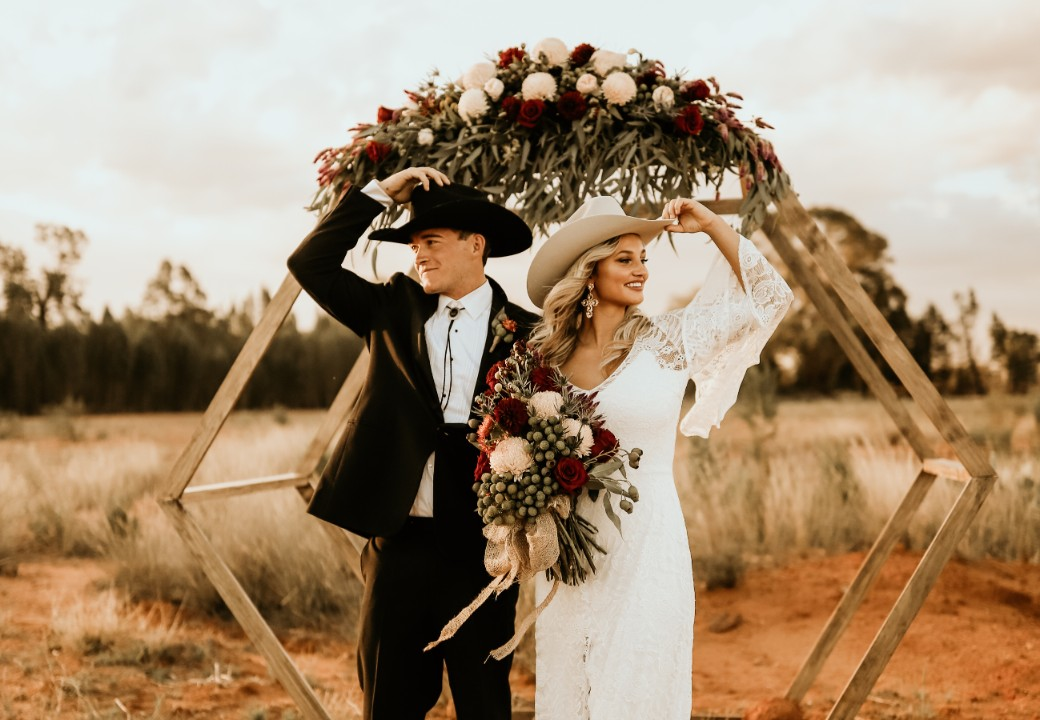 STYLED: WESTERN GLAM COUNTRY WEDDING INSPIRATION   CUMNOCK NSW