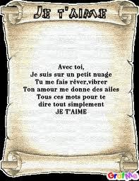 Poème Amour Poésie Et Citations 2019 Poèmes Je Taime Mon