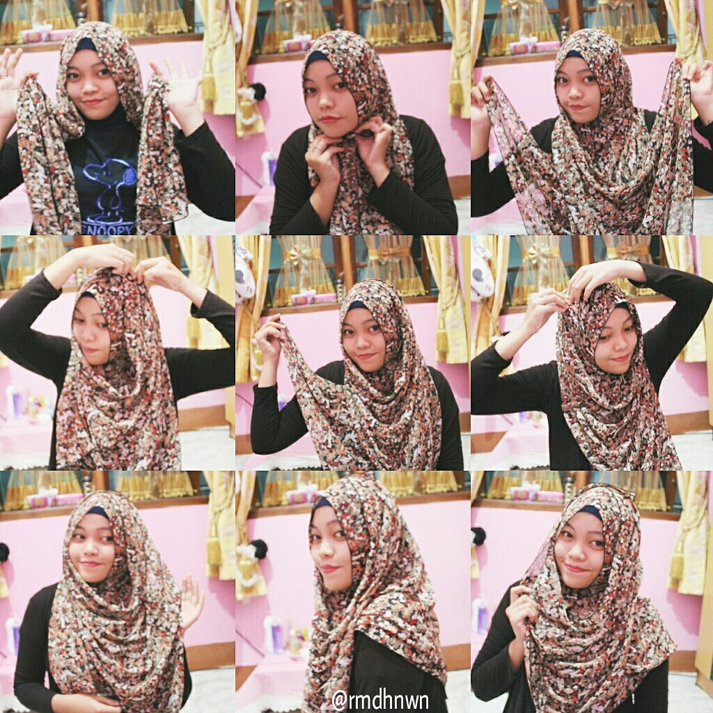 TUTORIAL HIJAB AND BEAUTY TIPS AND TRICK TUTORIAL HIJAB PASHMINA