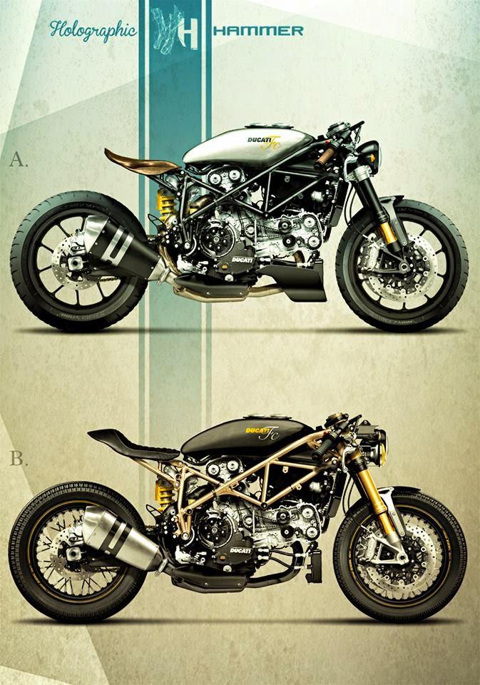 Racing Cafè: Cafè Racer Concepts - Ducati 999 2004 by ...