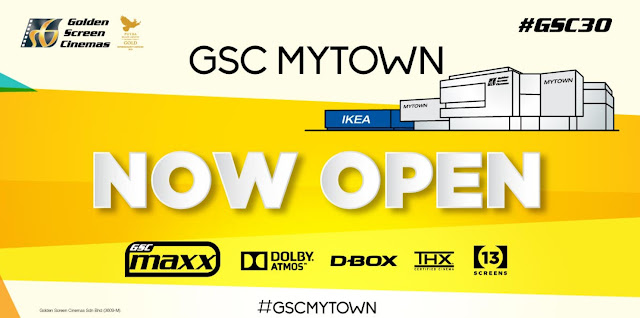 GSC MyTown now open in Cheras MyTown Shopping Mall