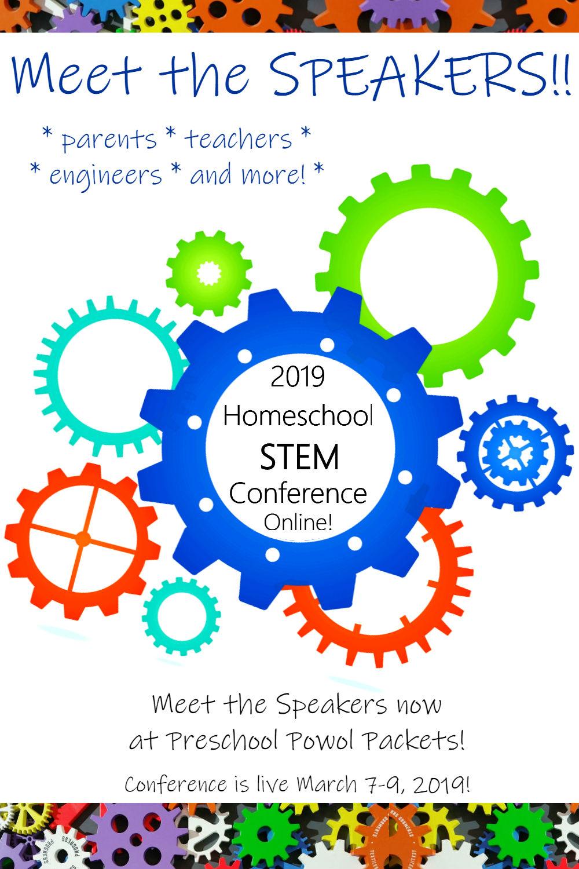 2019 Homeschool STEM Conference--Online Speakers | Preschool Powol