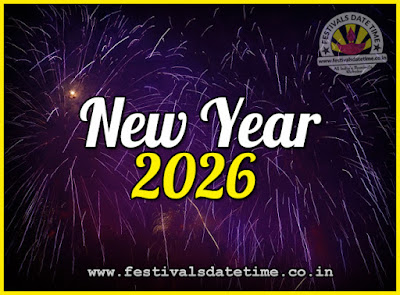 2026 New Year Date & Time, 2026 New Year Calendar