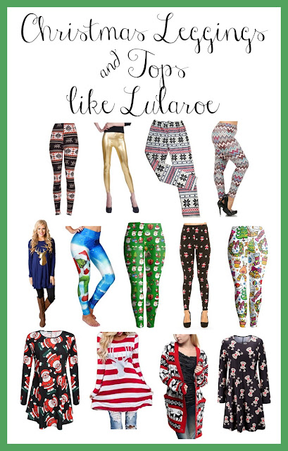 lularoe christmas leggings on amazon