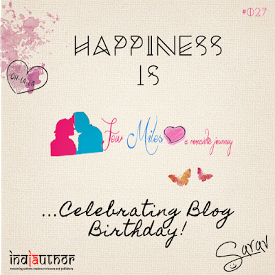 Happiness is Celebrating Blog Birthday!