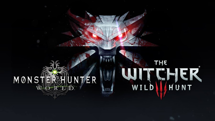 monster hunter world x witcher 3 crossover capcom