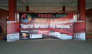 Kampoeng Lampion™ Malang sebagai sponsor partner di acara Supporter Bertanya? PSSI Menjawab