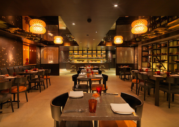 Simple kitchen meaning restaurant interior design for Aslam architects interior designs bangalore