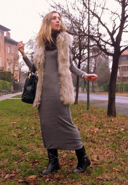 Long grey dress-232-mercedesmaya