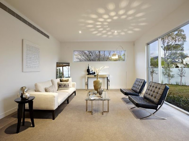 Photo of guest room with modern furniture in an amazing home in Australia
