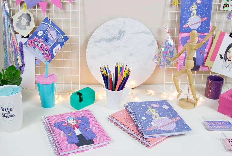 Minka Winka: Os cadernos mais fofos da internet
